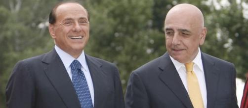Nella foto, Berlusconi e Galliani