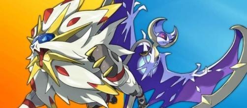Solgaleo y Lunala, los dos Pokémon representativos de cada versión.
