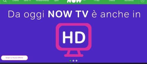 Su Now TV è arrivato oggi finalmente la risoluzione HD