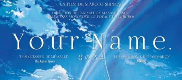 Affiche Your Name de Makoto Shinkai