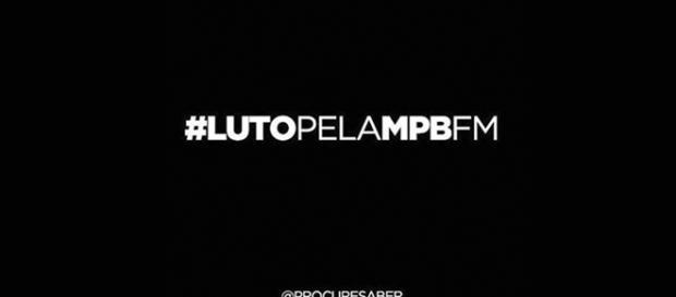 """Artistas ficam de """"luto"""" pelo fim da MPB FM - facebook.com/cesarpolvilho/"""