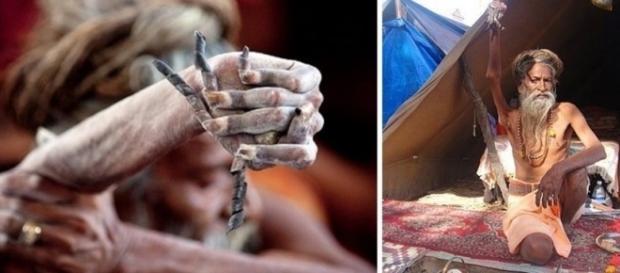 Em devoção ao seu Deus, ele resolveu ficar com a mão levantada até os seus últimos dias