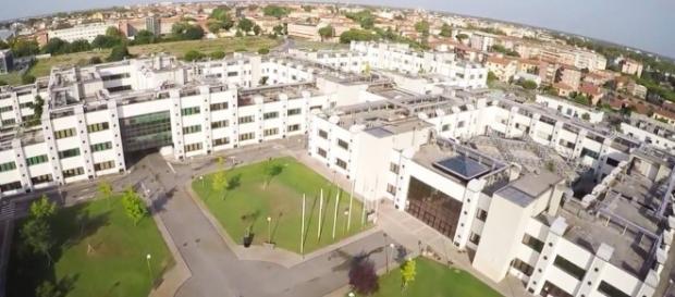 Una vista dall'alto del Centro Nazionale delle Ricerche di Pisa.