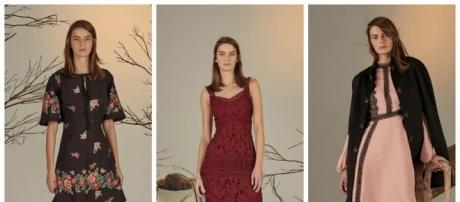 Нью-Йорк: Erin Fetherston осень-зима 2016-2017: myfashion_diary - livejournal.com