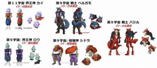 imagen importada desde la red social de estos nuevos personajes