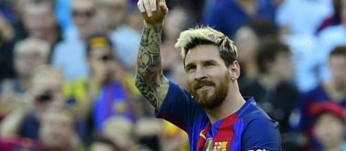 Leo Messi, attaccante del Barcellona