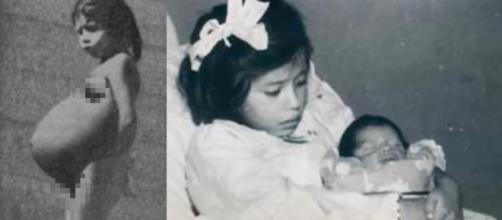 Lina Medina é considerada a mãe mais nova do mundo (Crédito: YouTube/PatrynWorldLatestNew)