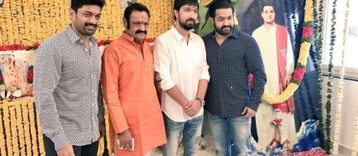 Ntr 27 movie launch photo 1 (Image credits: Pr Hanodut)