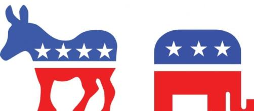 Photo of party logos courtesy of wisegeek.org