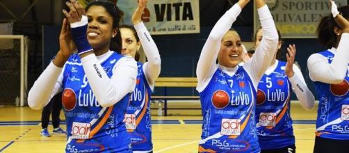 Volley Serie B1/F. Luvo Barattoli Arzano in campo contro la Sigel Marsala