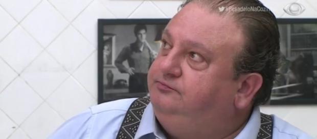 Chef Erick Jacquin foi chamado por participante de ''gordinho feio''.