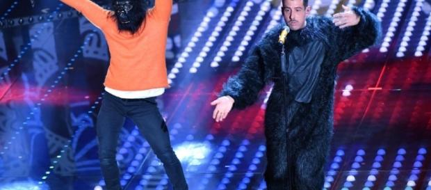 Francesco Gabbani e la sua 'Occidentali's Karma' - repubblica.it