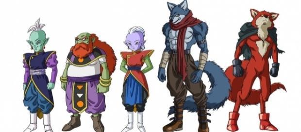 Imagen con los nuevos personajes presentados