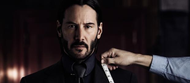 In gewohnter Arbeitskleidung: Keanu Reeves als Auftragskiller John Wick