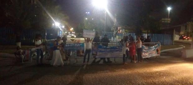 Macaé sofre greve de familiares da PM