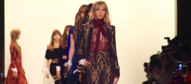 New York Fashion Week runway show/photo via Tracey Fitzpatrick,NYFW