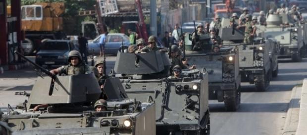 Tanques de guerra chegam ao Espírito Santo