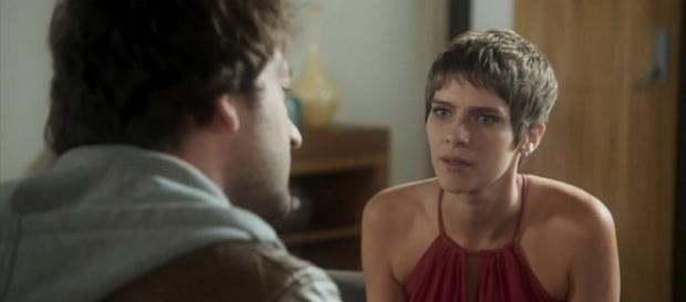 Tiago e Letícia na novela 'A Lei do Amor' (Divulgação/Globo)