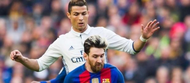 Désormais plus en guerre avec Lionel Messi, Cristiano Ronaldo a reporté sa haine sur un autre joueur du FC Barcelone - (Photo : Givemesport)