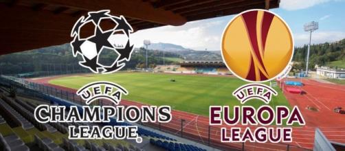 Champions League Calendario Ottavi.Champions Europa League In Tv Quali Partite In Chiaro