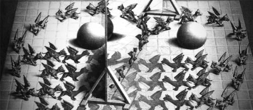 Escher, en el Palacio de Gaviria