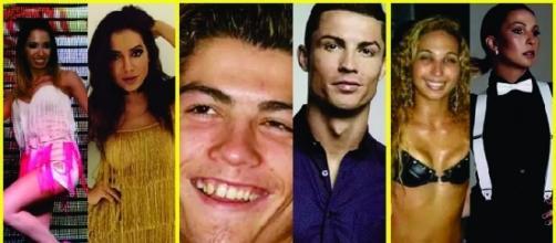 Famosos antes e depois da fama