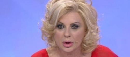 Tina Cipollari in lacrime a Verissimo