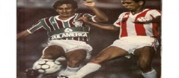 Decisão do Carioca de 1985: última final entre Fluminense e Bangu (Foto: Cacellain)