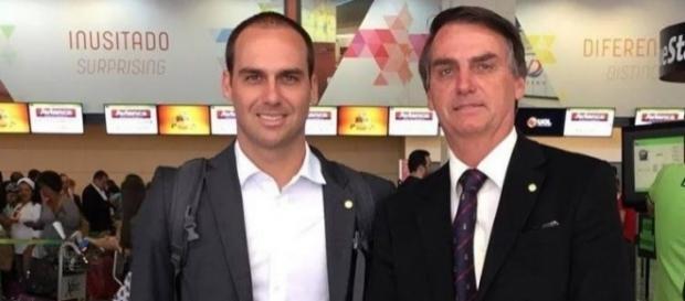 Eduardo e Jair fazem dezenas de viagens visando 2018 (Foto: Reprodução)