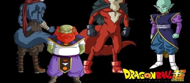 El dios Destructor del Universo 9 se Llama Sidra y Su Kaio-Shin Rou