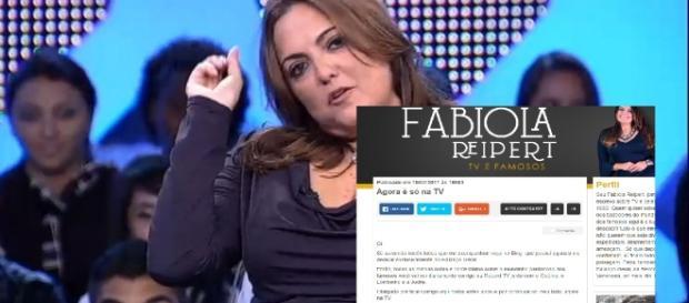Fabíola Reipert perde blog no R7