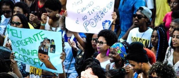 Marcha do Empoderamento Crespo de Salvado (Via: Galedés)