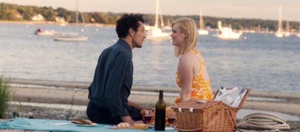 Max and Ellie in the date scene of 'Almost Paris' Photo Credit:Asya Danilova