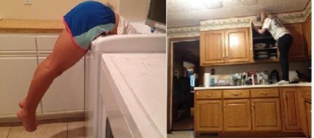 Na hora de lavar as roupas é outro grande problema.