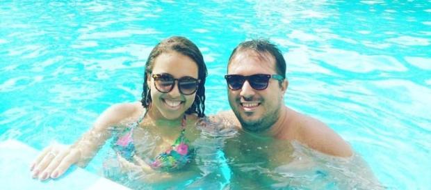 Residentes de Muriaé se divertindo na piscina do Via Park Clube