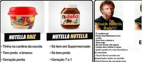"""Geração raiz versus Nutella, o assunto que """"bombou"""" na internet"""