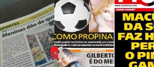 As manchetes de jornais mais engraçadas ou bizarras do Brasil