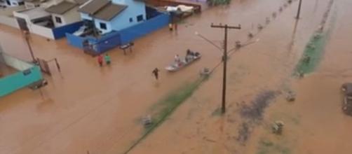 Inundação, Foto reprodução:Midianews