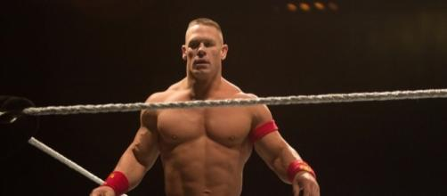 John Cena will defend his championship inside the chamber at Sunday's WWE PPV. [Image via Flickr Creative Commons]