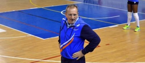 Paolo Collavini allenatore della Luvo Barattoli Arzano Volley