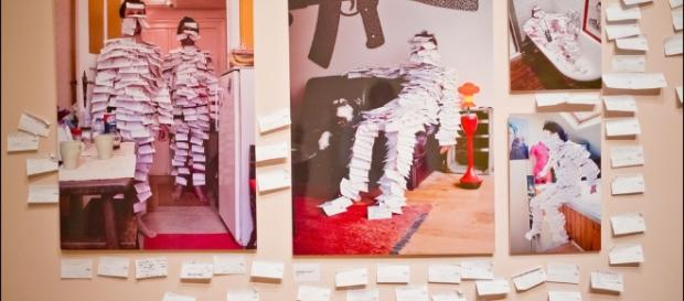 Art Truc Troc: Echange post-it contre oeuvre d'art - aufeminin.com