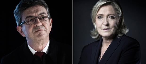 Jean-Luc Mélenchon - Marine le Pen