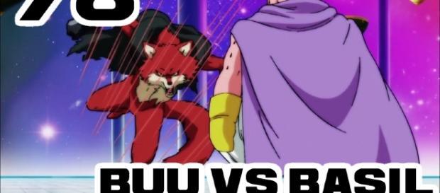 Le match d'exhibition: Univers 7 contre Univers 9 ! Buu vs Basil !