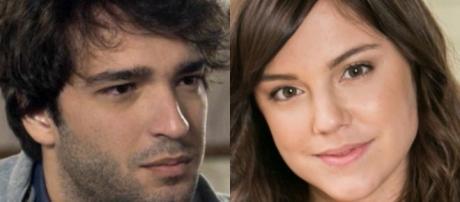 Tiago e Marina ficam juntos e ela tem cicatriz no braço