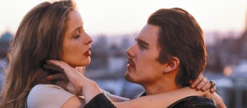 """Antes del amanecer"" (Before Sunrise) de 1995."