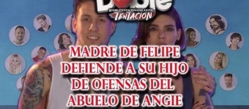MAdre de Felipe defiende a su hijo