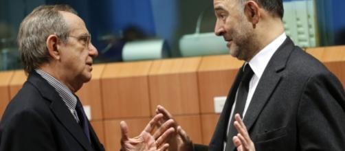 Manovra, Moscovici e Padoan: 'l'aggiustamento è indispensabile' - la7.it
