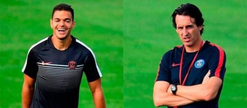"PSG | Ben Arfa bawled out by Emery: ""You're no Messi"" - AS.com - as.com"