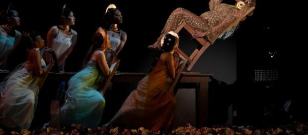 Beyonce lo volvió a hacer vistoso.