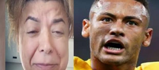 David Brazil e Neymar - Google